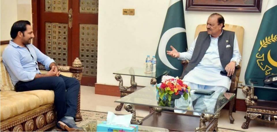 Sarfraz Meet President Today