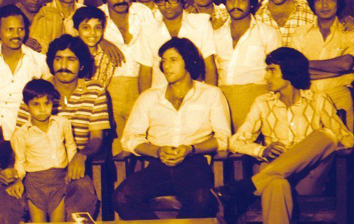Sarfraz Nawaz, Imran Khan and Sikander Bakht in Late 70s