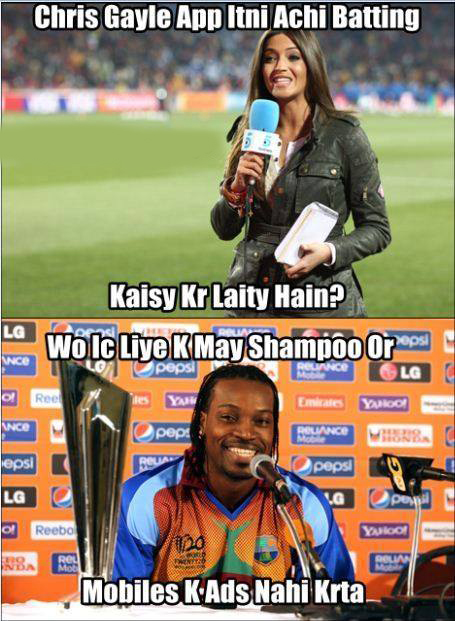 Secret Behind Chris Gayle Batting