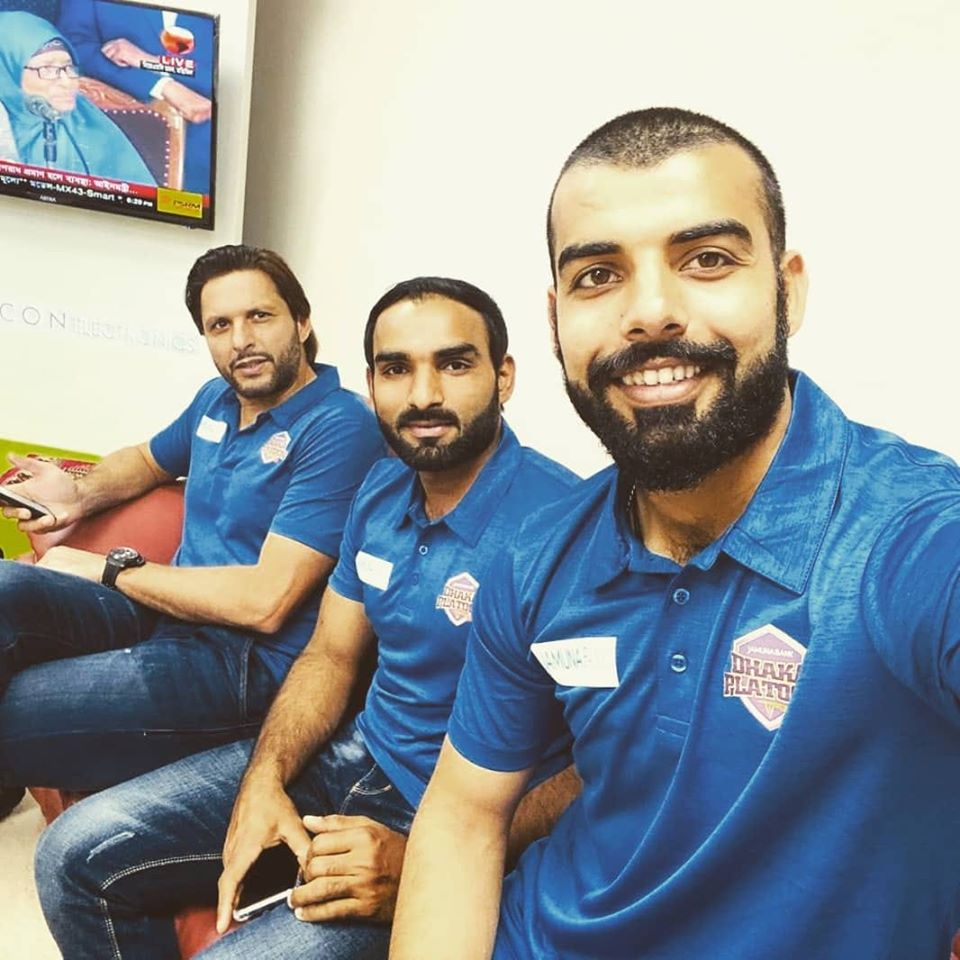 Shadab Khan, Asif Ali & Shahid Afridi Off To Chittagong