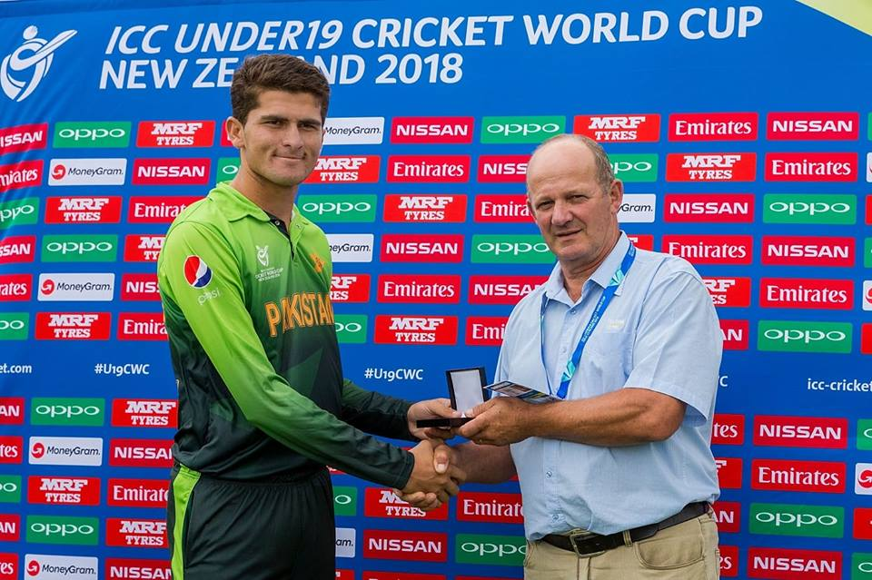 Shaheen Shah Afridi Ripped Through IREU19 To Bag 6 Wickets For 15 Runs