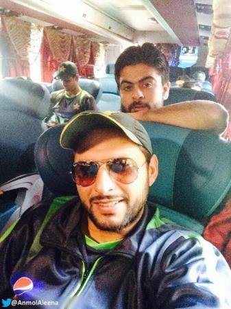 Shahid Afridi And Ahmed Shehzad
