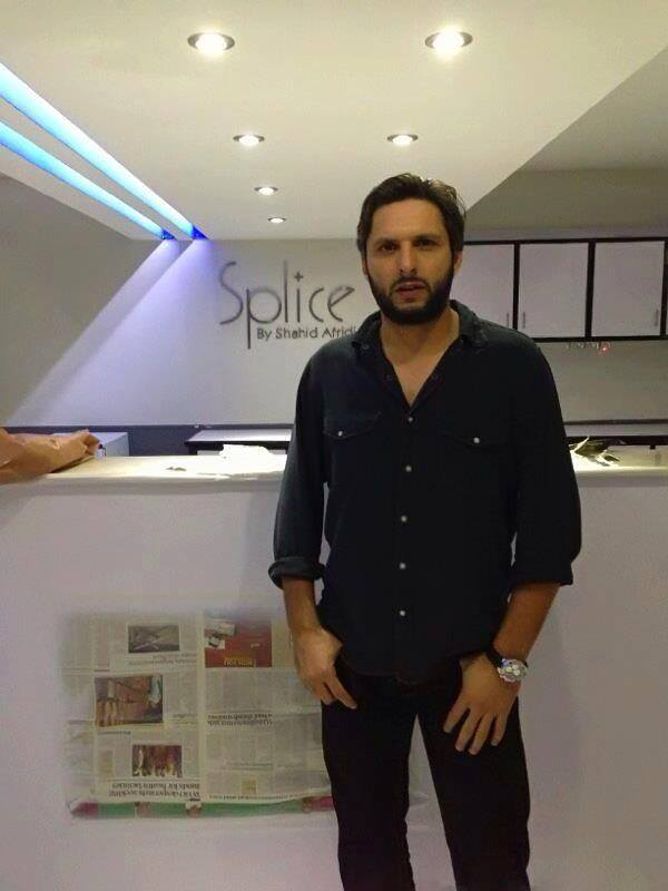 Shahid Afridi At Splice