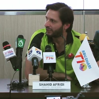 Shahid Afridi Joins Lahore Qalandars As Iconic Player In T10 League