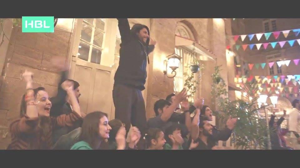 Shahid Afridi Rocking In PSL 2 Anthem