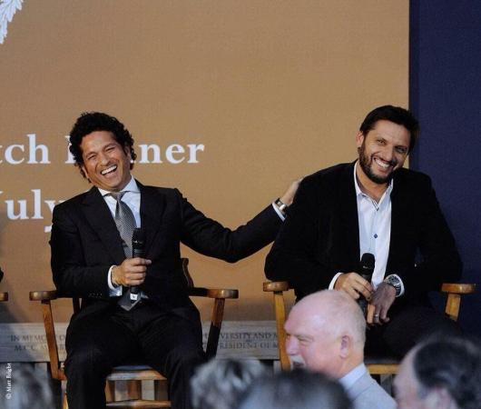 Shahid Afridi & Sachin Tendulkar Two Great Together
