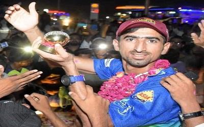 Shahnawaz Dahani's Grand Welcome In His Home City Larkana, Pakistan