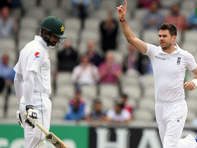 Shan Masood Has Been Dismissed 6 Times By James Anderson Out Of 8 Innings In Test