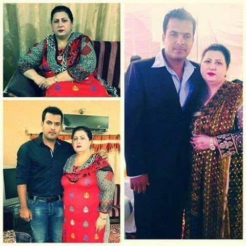 Sharjeel Khan With Mother