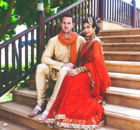 Shaun Tait Married With Mashoom Singha
