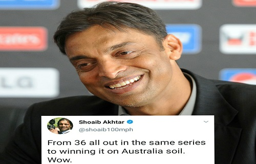 Shoaib Akhtar Congrats Indian Team Over Their Victory