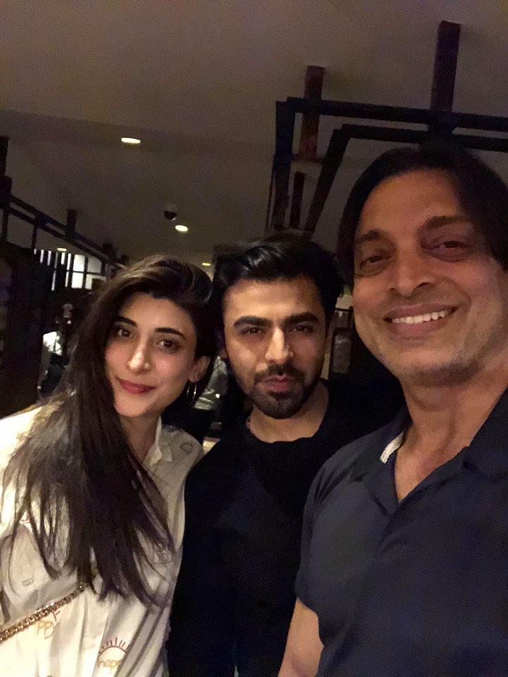 Shoaib Akhtar With Urwa & Farhan