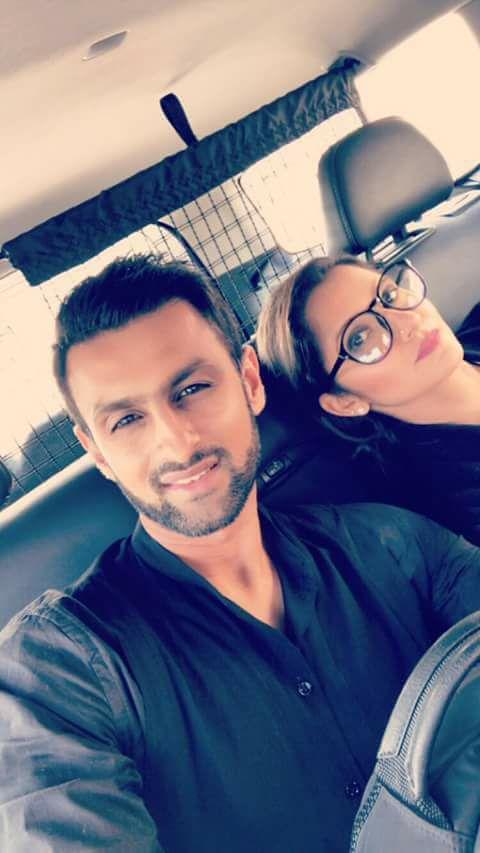 Shoaib Malik And Sania Mirza