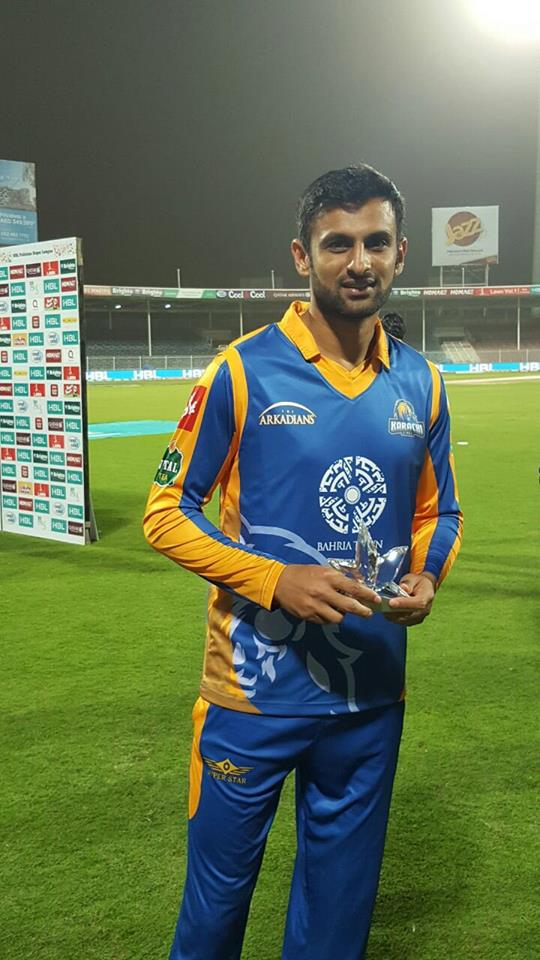 Shoaib Malik Man Of The Match Against Zalmi