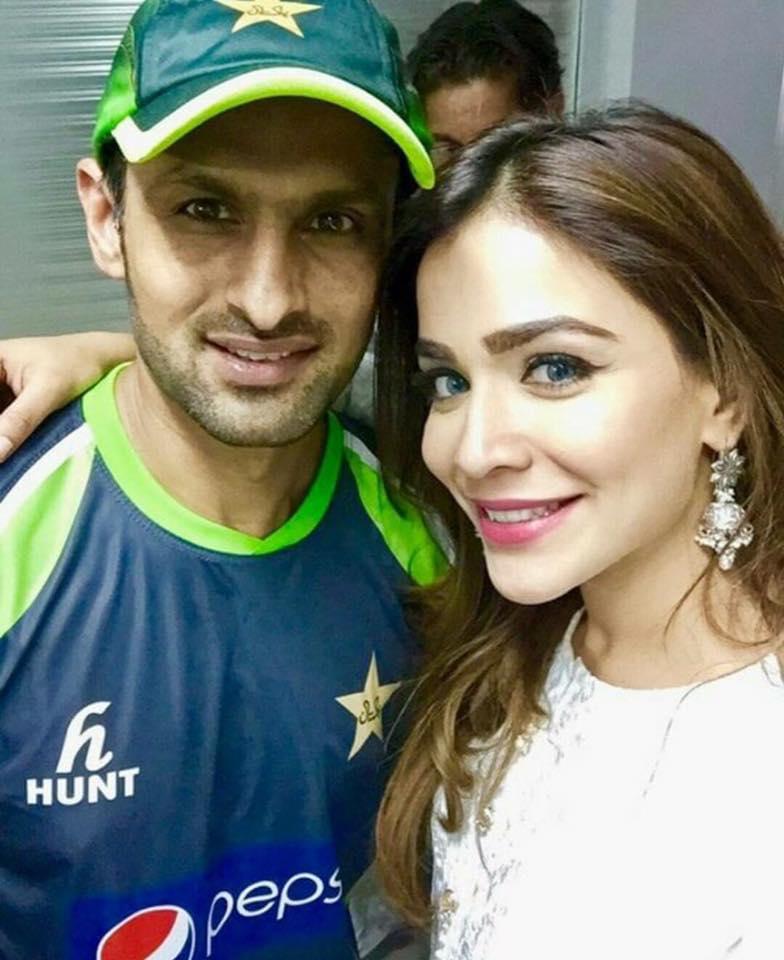 Shoaib Malik With Humaima Malik