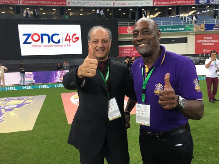Sir Vivian Richards - Quetta Gladiators