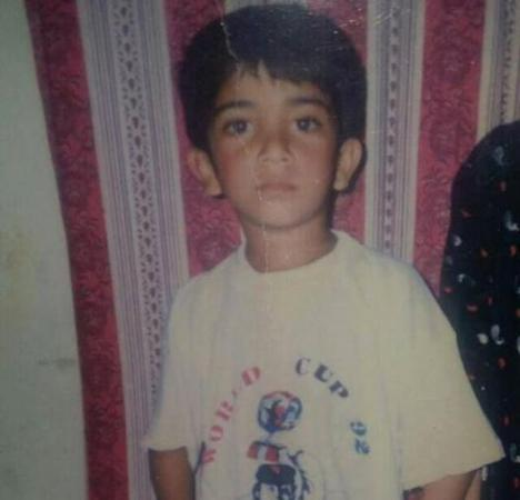 Sohaib Maqsood Childhood Photo