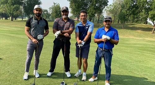 Some Legend Cricketers Having Golf Day On The Rest Days Of Cricket