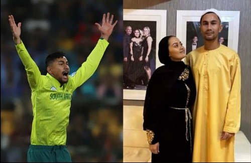 South African Cricketer Bjorn Fortuin And His Wife Convert To Islam