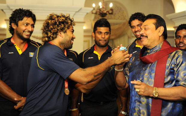 Sri Lankan Team Celebration