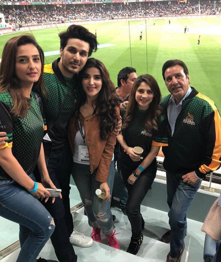 Stars Supporting Multan Sultans In Full Force