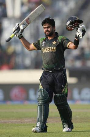 T20 World Cup 2014 Ahmed Shehzad First Century