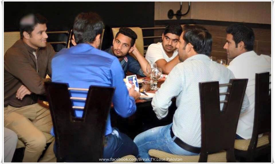 Team Pakistan Had Dinner At Balochi Sajji In Lahore