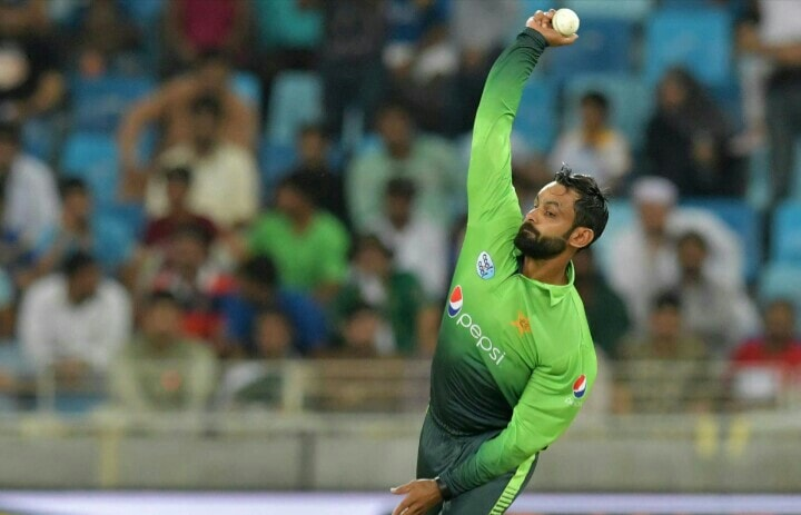 The Bowling Test Of Muhammad Hafeez Is Expected On April 17th