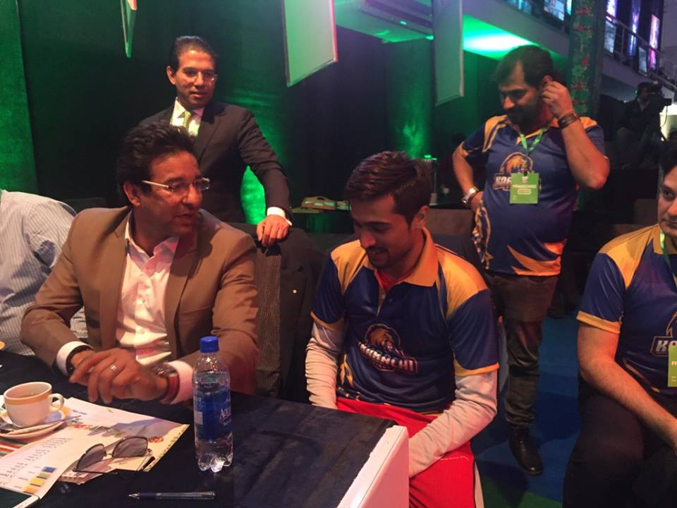 The Karachi Team Celebrating The Addition of Muhammad Amir