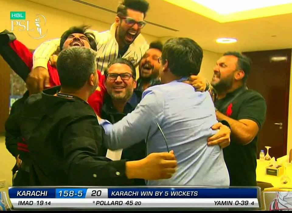 The Moments When Karachi Kings Win The Match