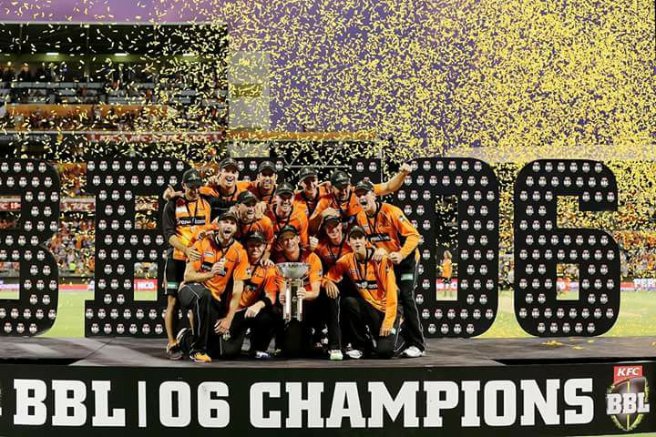 Third BBL Title For Perth Scorchers