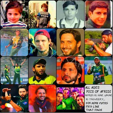 Timeless Memories of Shahid Afridi