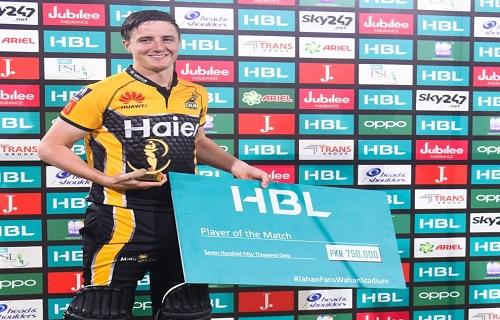 Tom Kohler-Cadmore Gets Player Of The Match Award