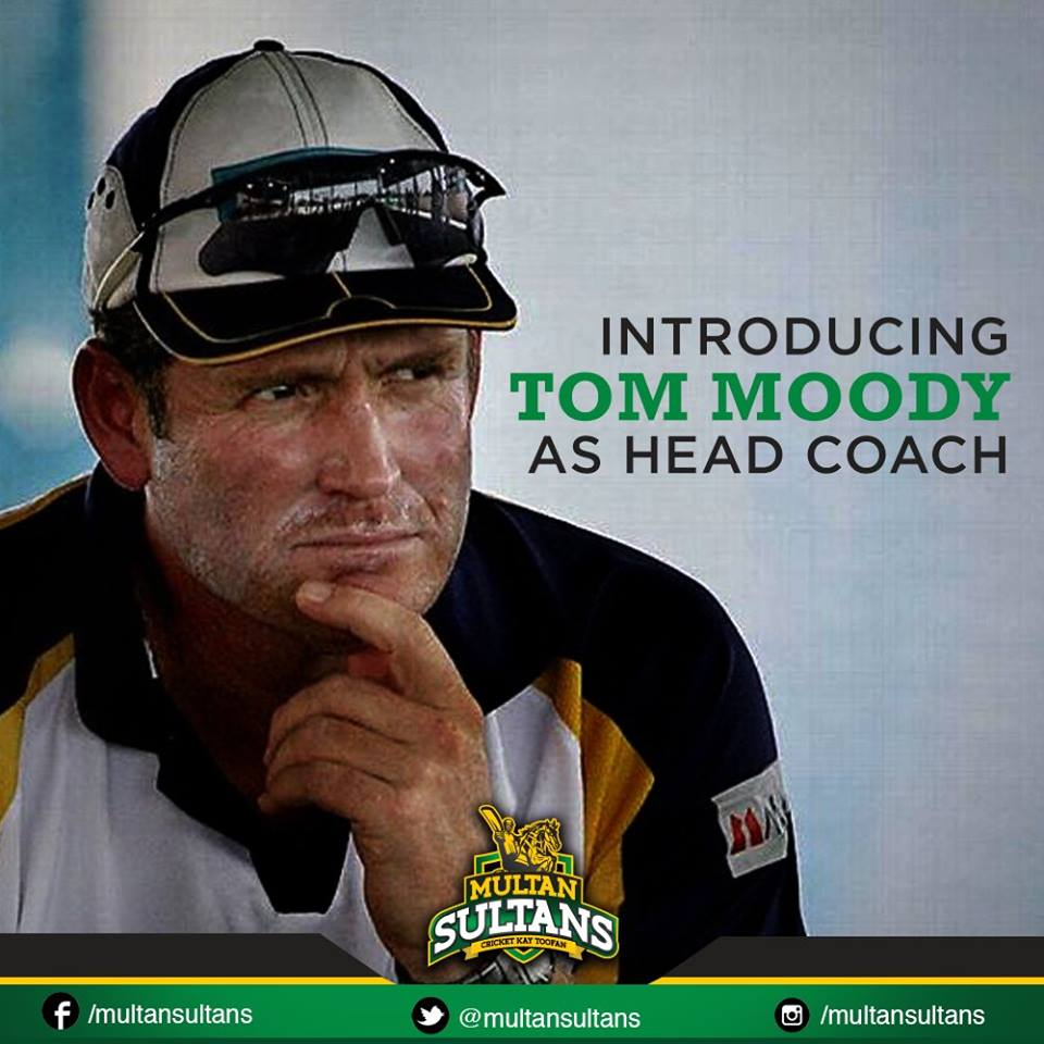 Tom Moody Appointed As The Head Coach Of Multan Sultans