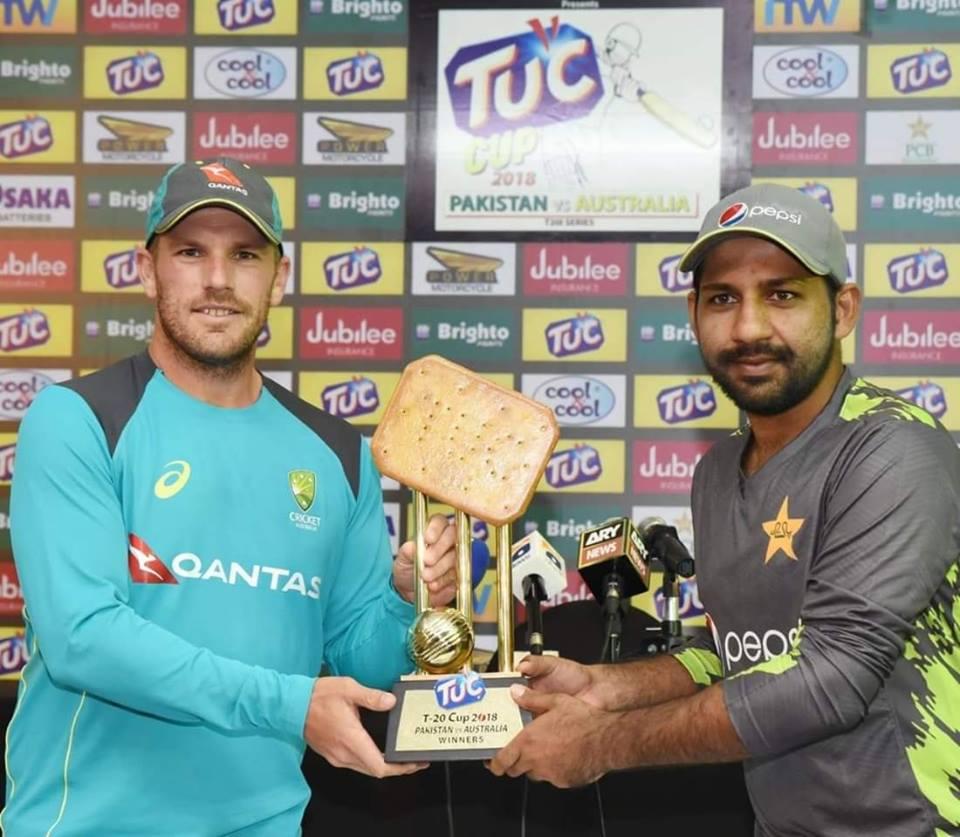 Trophy Of T20I Series Between Pakistan-Australia