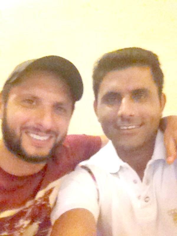 Two Great Legend Afridi & Abdul Razzaq