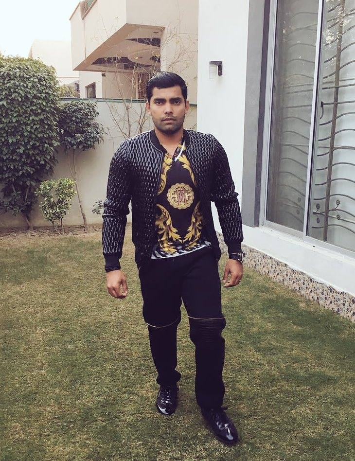 Umar Akmal In New Year 2017