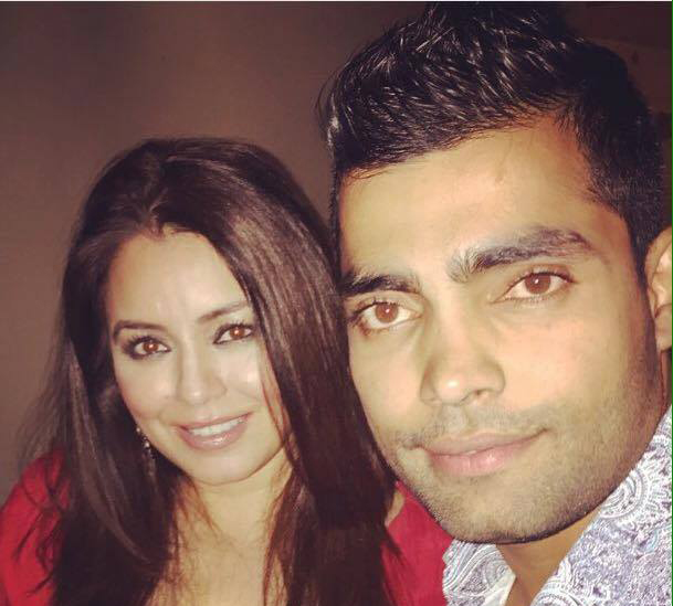 Umar Akmal Met Indian Actress Mahima Chaudhary