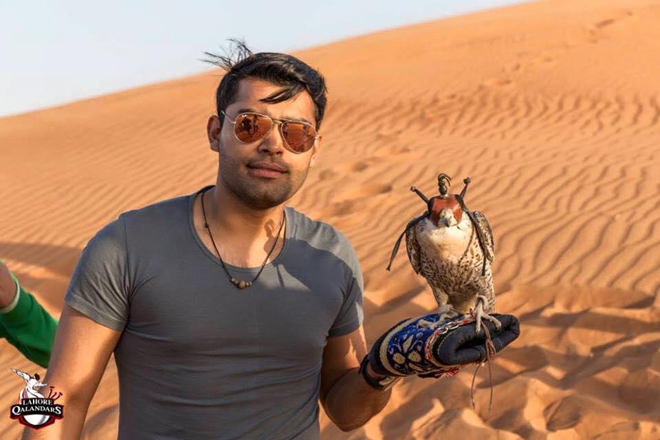 Umar Akmal On Desert Saffari Trip