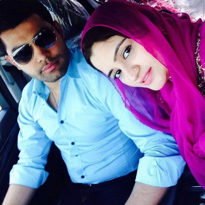 Umar Akmal With His Wife Noor Latest Pic