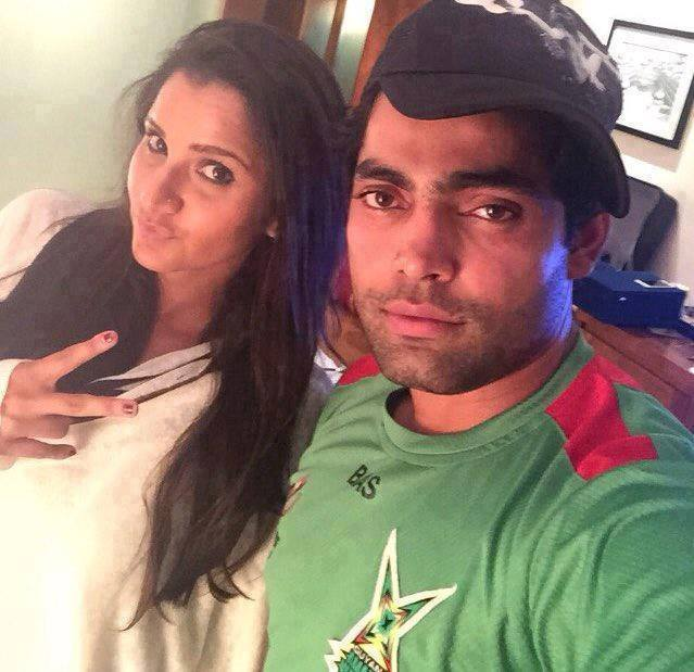 Umar Akmal With Sania Mirza