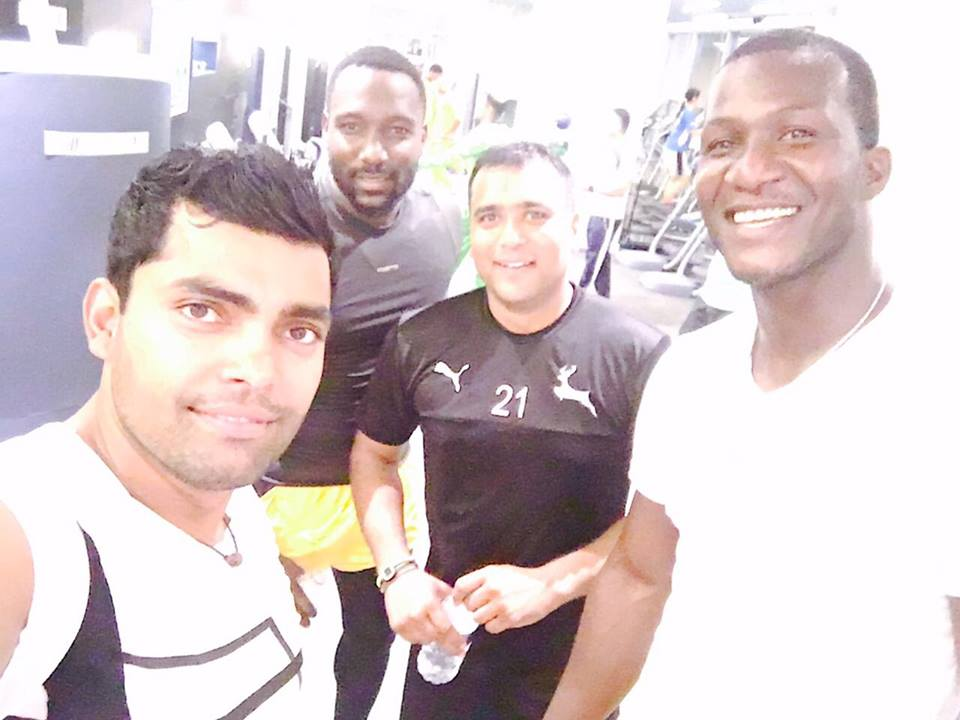 Umar Akmal & Sammy With Two Others