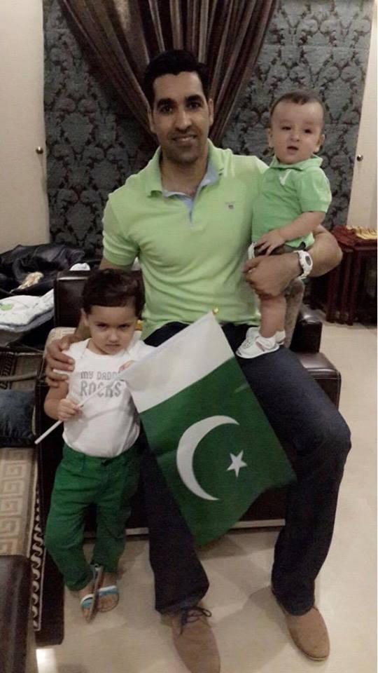 Umar Gul Celebrating 14 August