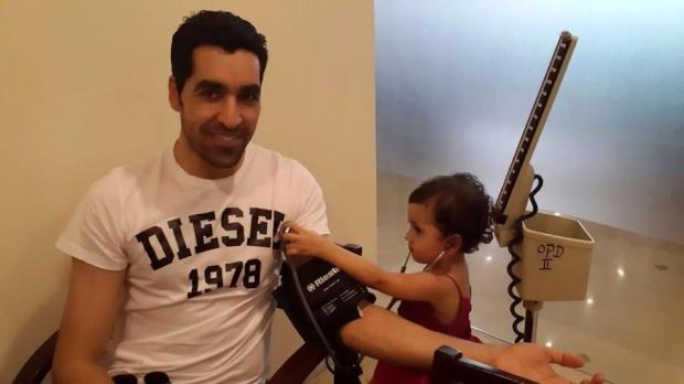 Umar Gul Daughter Rehab Doing Baba