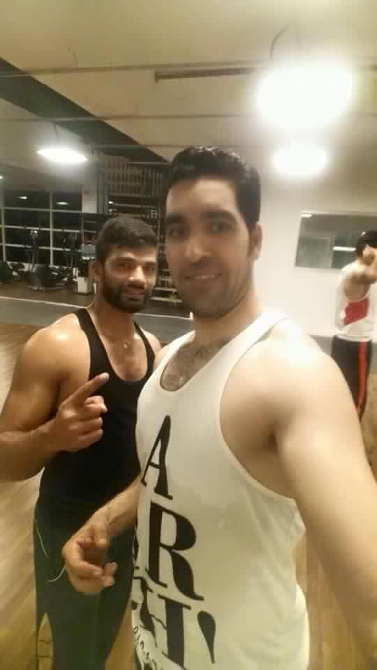 Umar Gul Post Workout Selfie