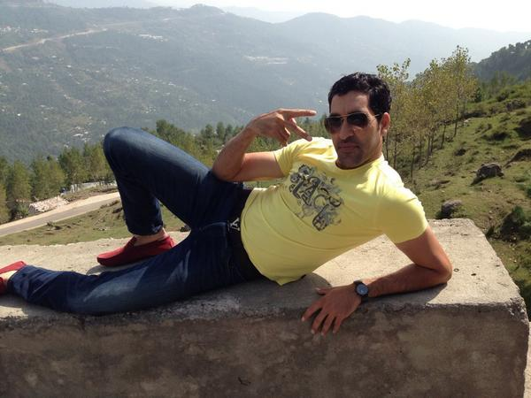 Umar Gul Spotted In Murree