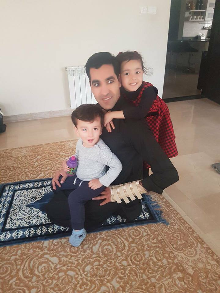 Umar Gul With Children
