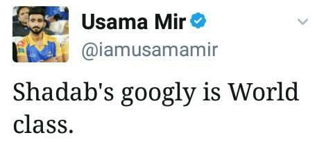 Usama Mir Tweet