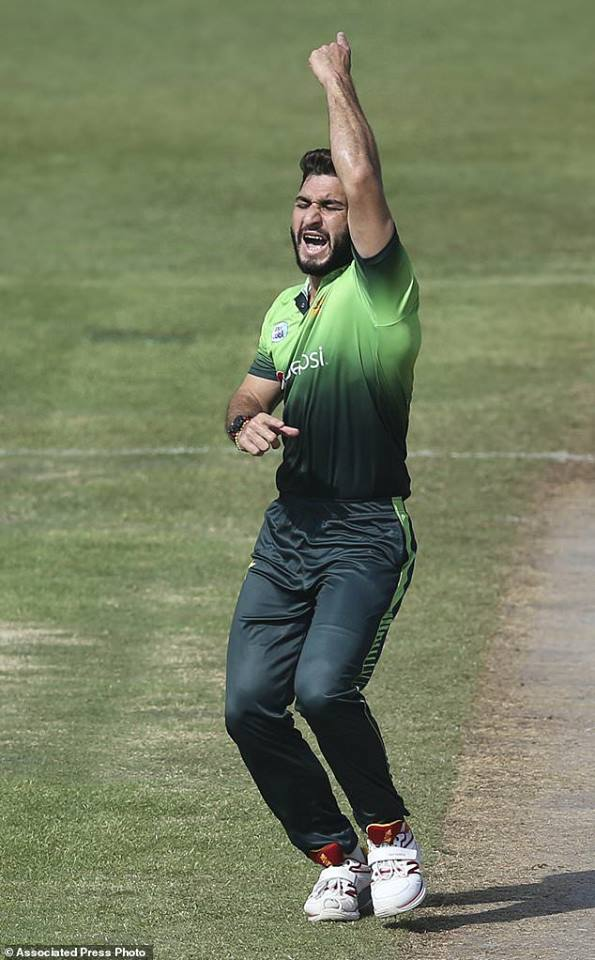 Usman Khan Is The First Pakistan Opening Bowler To Take 4 Wickets In First 2 Overs