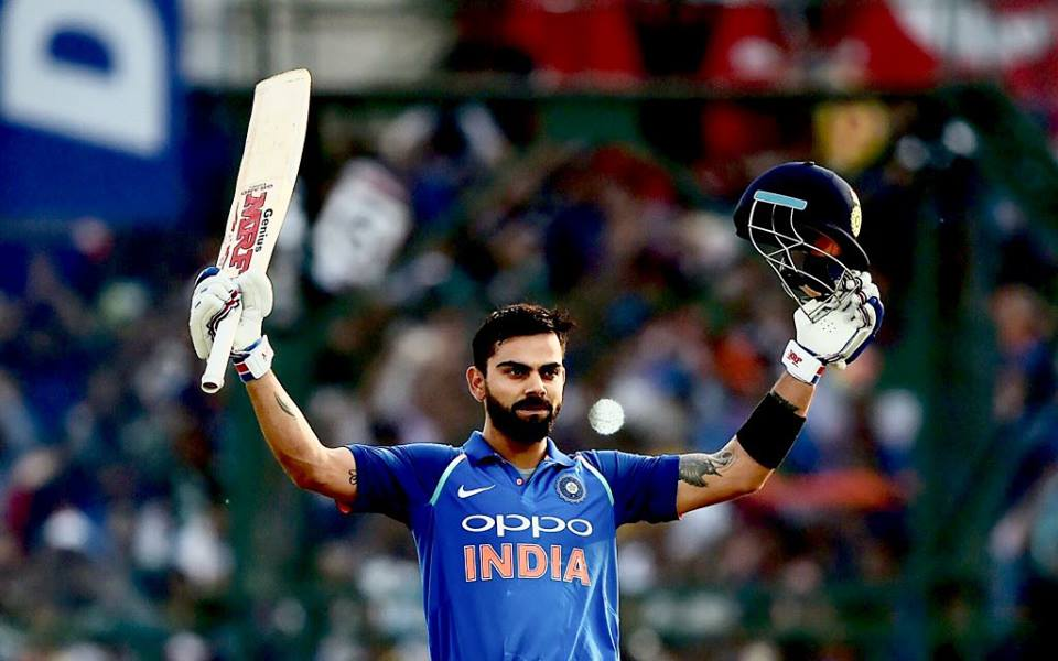 Virat Kohli Becomes The No.1 Batsman In ICC ODI Rankings